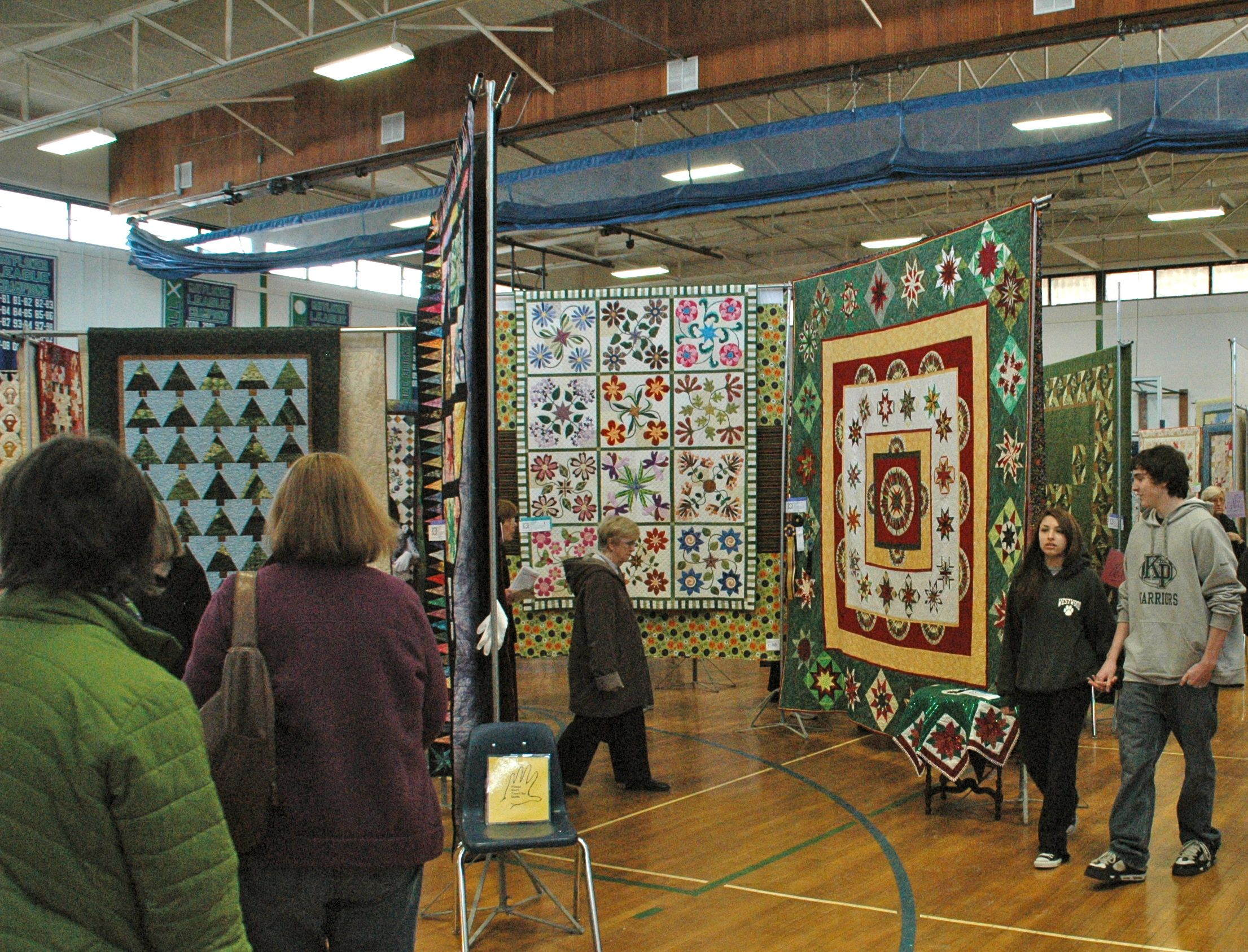 quilt show wide angle